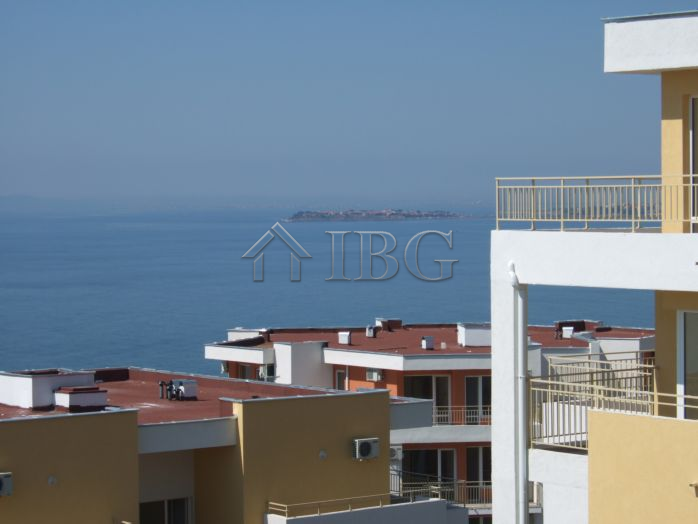Furnished 1-bedroom apartment with Magnificent Sea view in Sveti Vlas