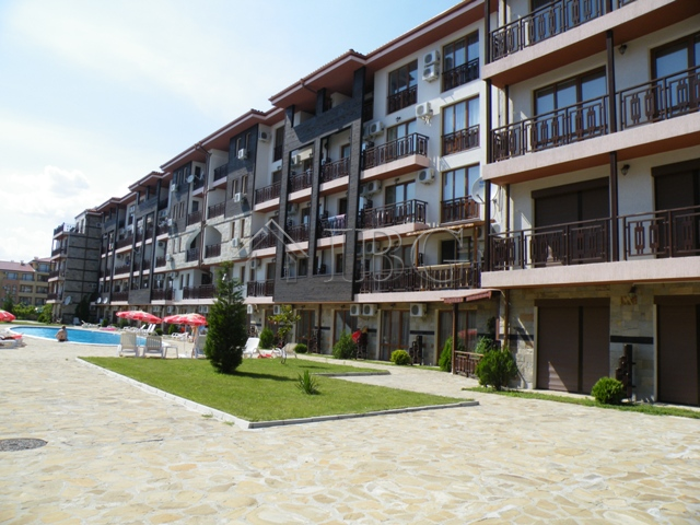 Furnished 1-Bedroom apartment 200 m from the sea in Sveti Vlas