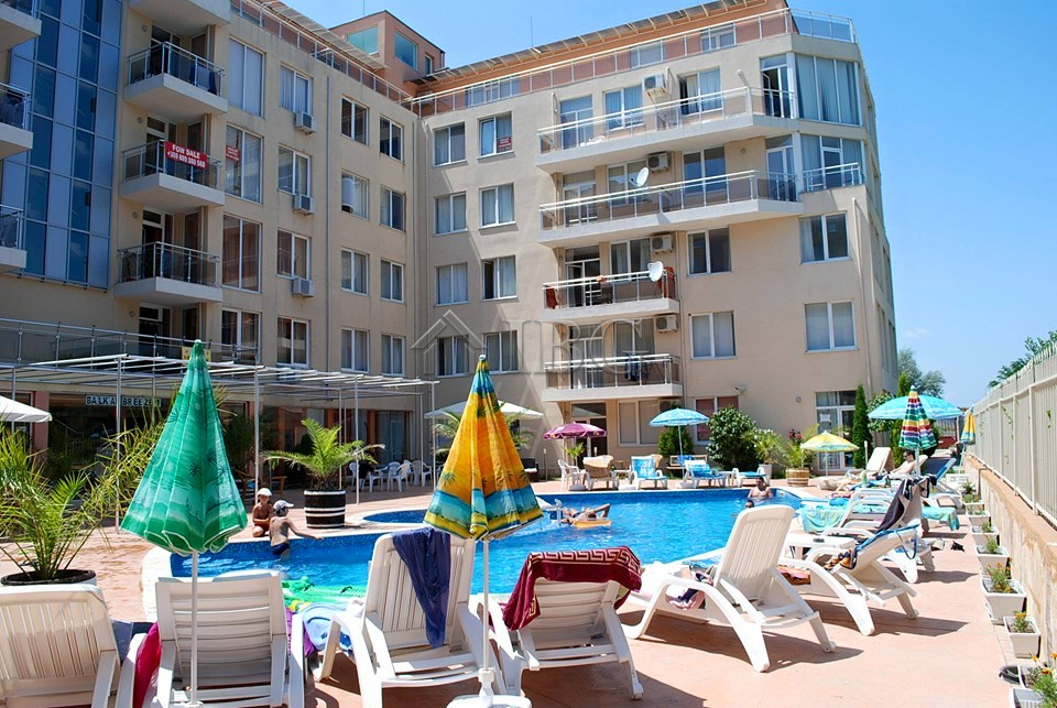 Spacious apartment with 2 Bedrooms in Balkan Breeze 1, Sunny Beach