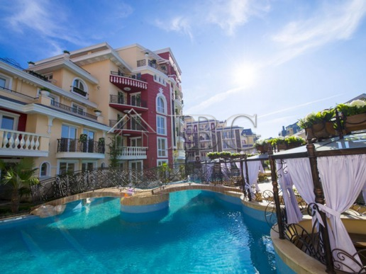 Studio in the luxury complex Messembria Palace,Sunny Beach