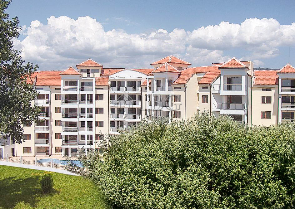 Furnished 2-Bedroom apartment in Villa Sofia, Sunny Beach, 400 m to the beach
