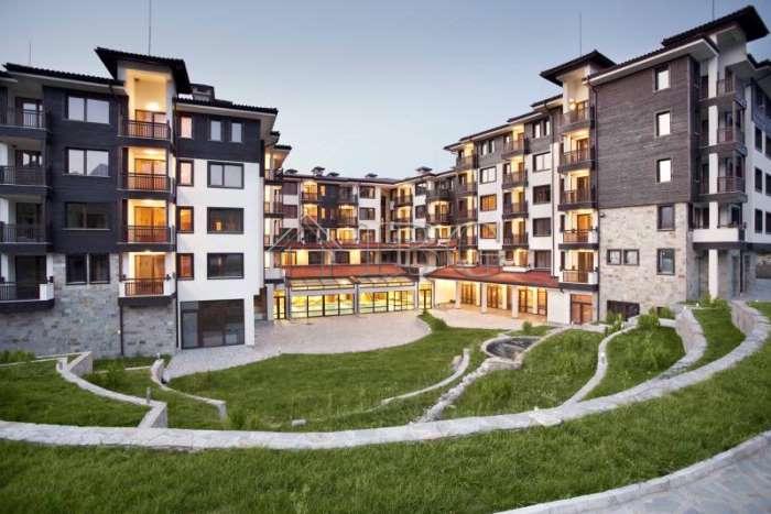Apartment with 2 bedrooms in luxury St. George Ski  SPA, Bansko