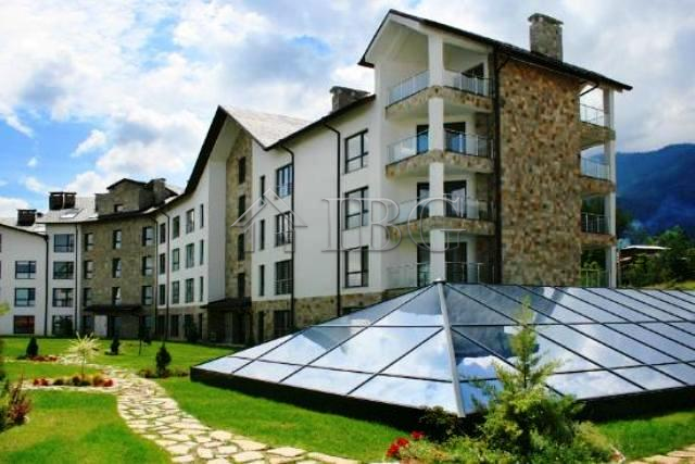 Apartment with two bedrooms, two bathrooms and mountain Views in St. George Lodge, Bansko