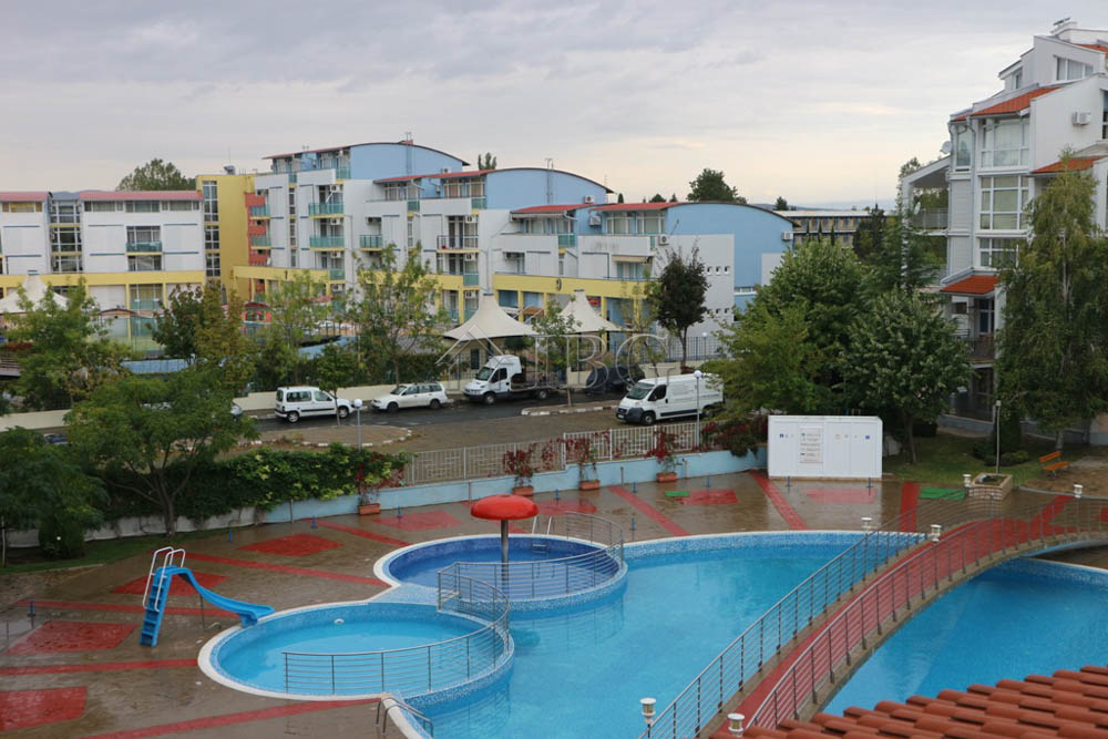 Pool view 1 bedroom apartment with parking lot in elit 2 - Sunny beach pools ...