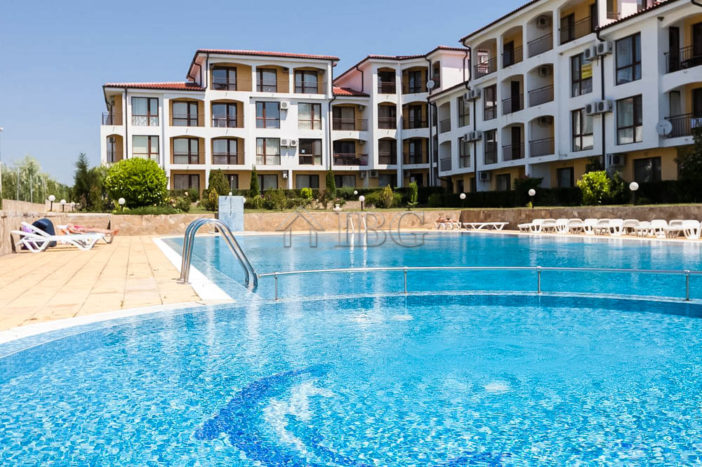 Apartment with 2 bedrooms, SEA and POOL view in Rutland B??, Ravda
