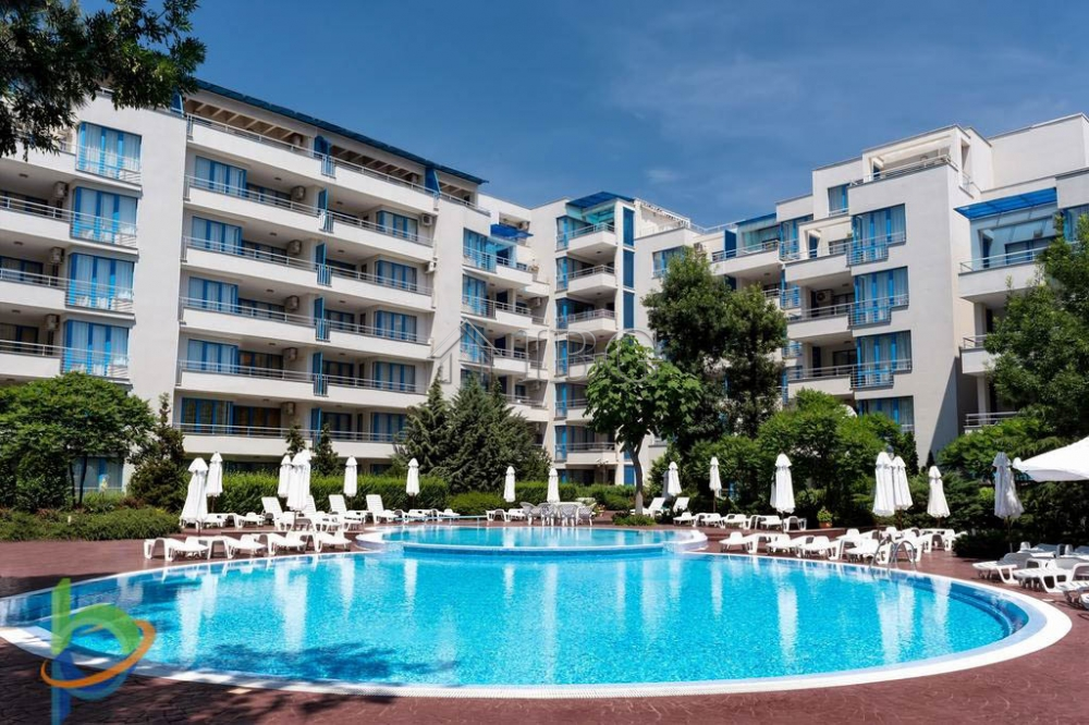 First line 1-bedroom apartment, Excelsior Sunny Beach
