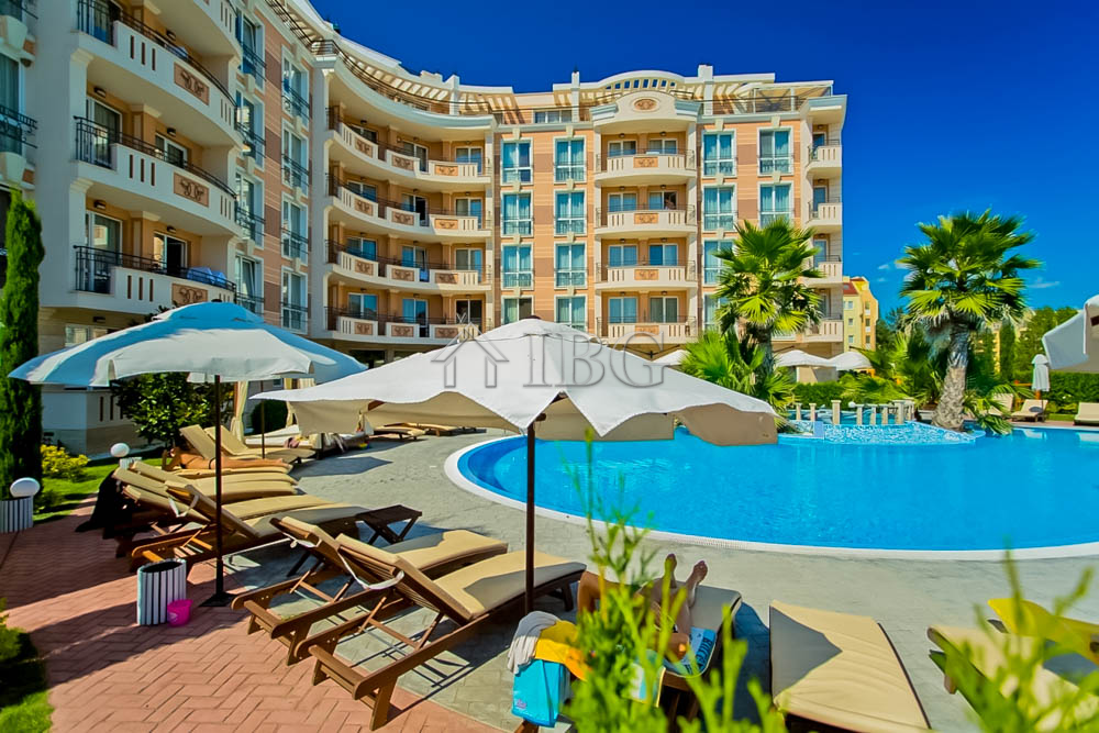 1-bedroom apartment with big balcony in Aphrodite Palace, Sunny Beach