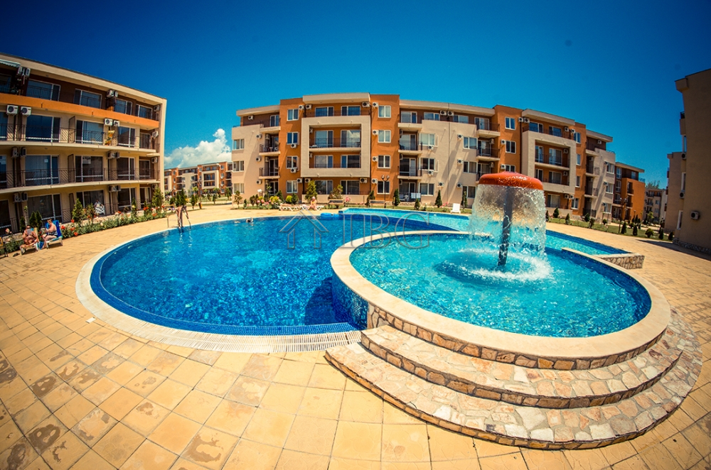 Furnished studio in Holiday Fort Club, Sunny Beach