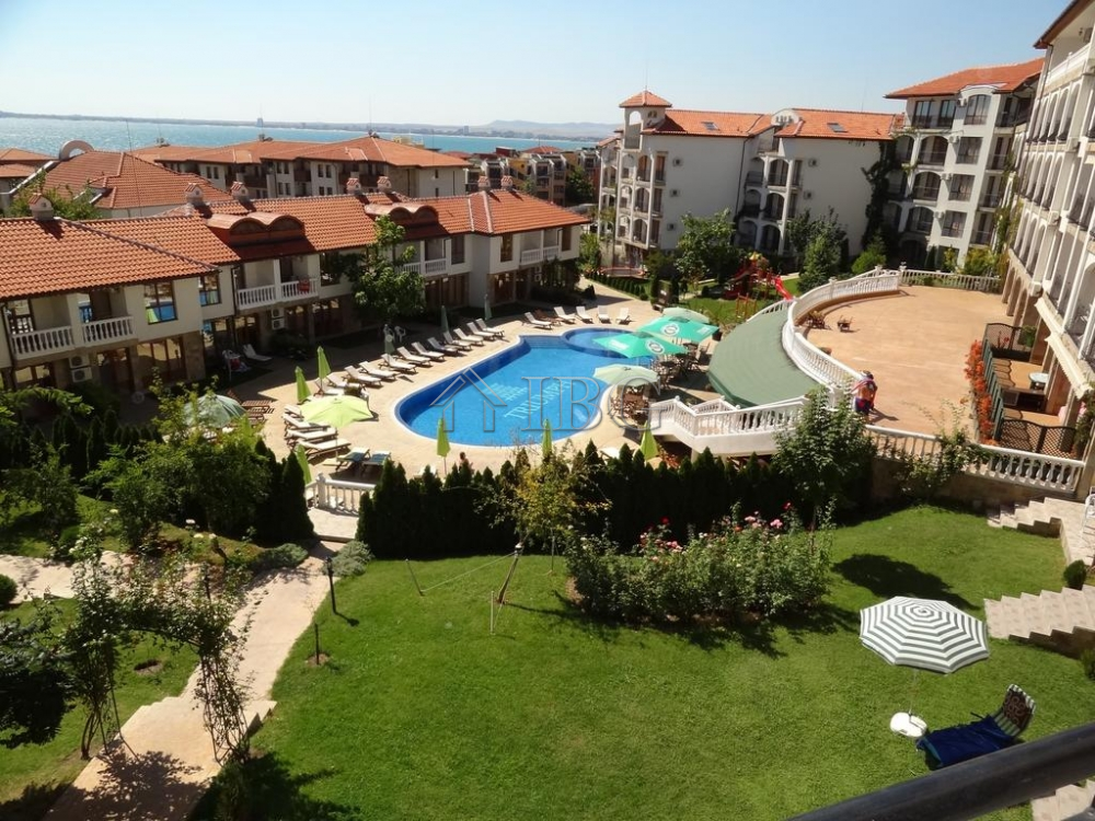 Furnished 1-Bedroom apartment with SEA view in Triumph, Sveti Vlas