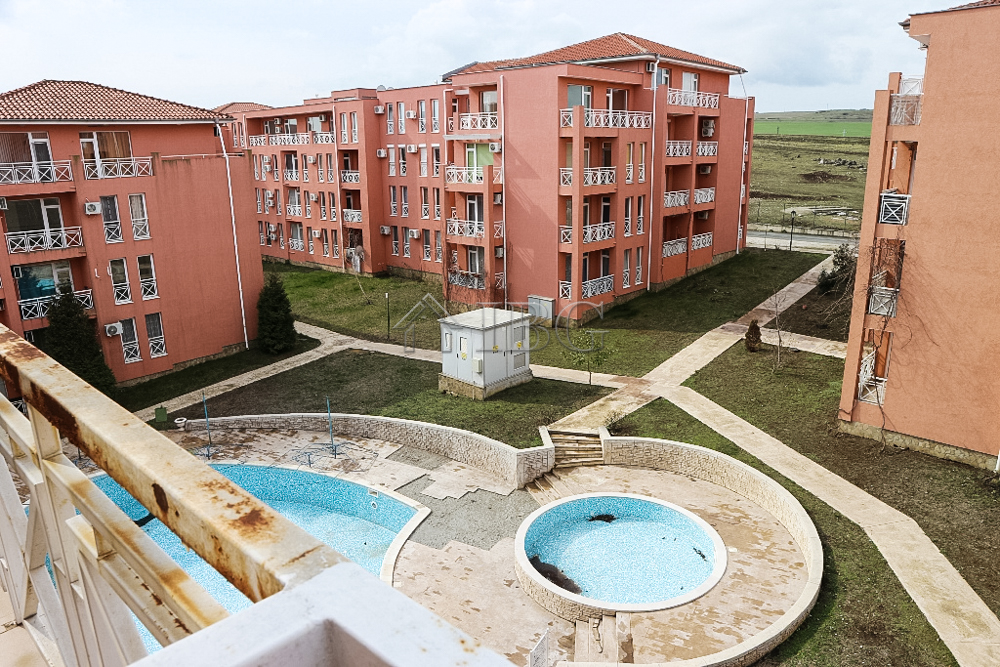 Studio with balcony with Pool view in Sunny Day 6, Sunny Beach