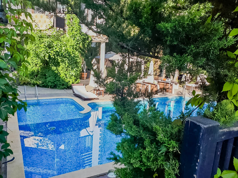 Studio with pool view in The Green Paradise, Primorsko