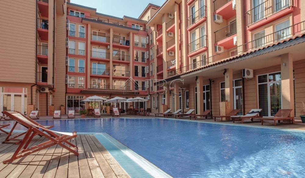 For sale is a 1-bedroom apartment in Sunny View Central, Sunny Beach