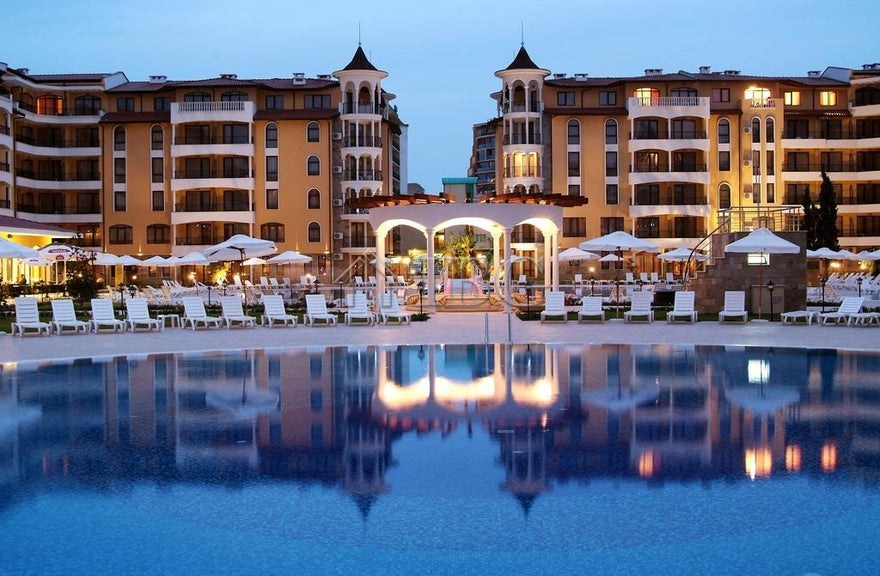 Furnished studio for sale in Royal Sun, Sunny Beach