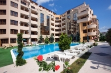 Pool view 2-BED apartment in Emerald Paradise, Sunny Beach